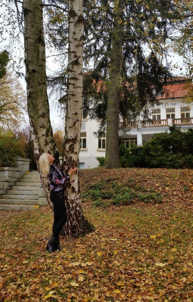 krásný podzim s krásnou Barbarou